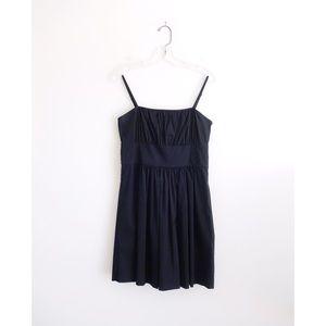 Theory 'Yumi Luxe' Black Sundress size 6